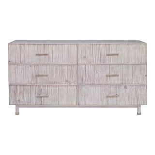 Century Furniture Biscayne 6 Drawer Dresser, Peninsula Finish For Sale