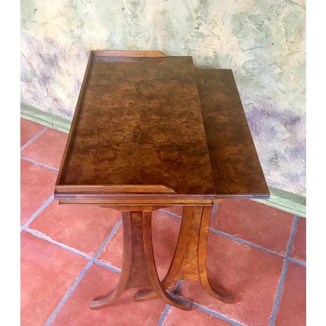 Baker Furniture Company Baker Furniture Nesting Tables - Set of 2 For Sale - Image 4 of 13
