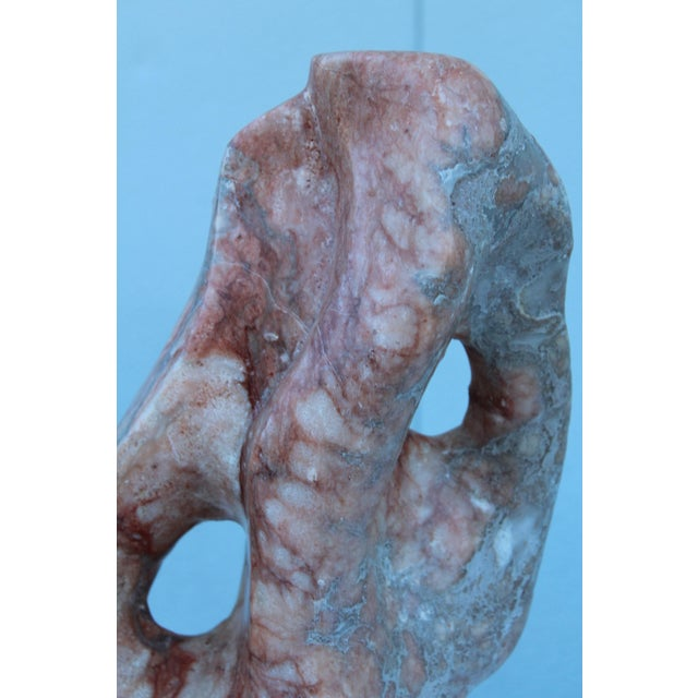 Mid-Century Modern Abstract Marble Sculpture For Sale In New York - Image 6 of 13
