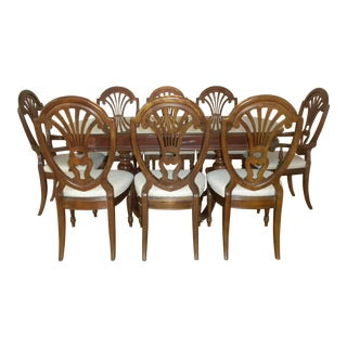 American Generation Dining Table and Chairs - Set of 9