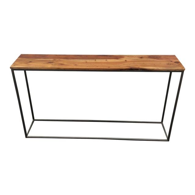 CB Frame Work Console Table Chairish - Cb2 sofa table