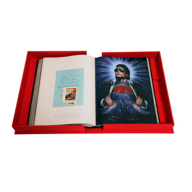 Michael Jackson Opus Large Collector Table Book For Sale - Image 4 of 11