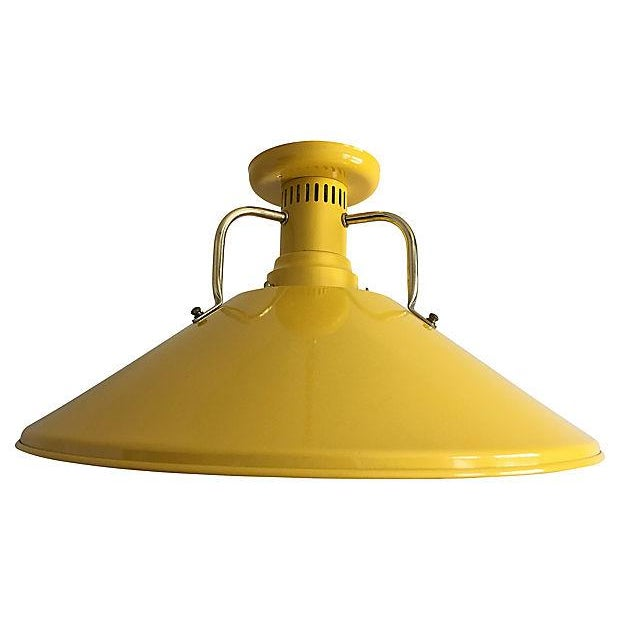 Contemporary 1970s Modern Ceiling Light For Sale - Image 3 of 7