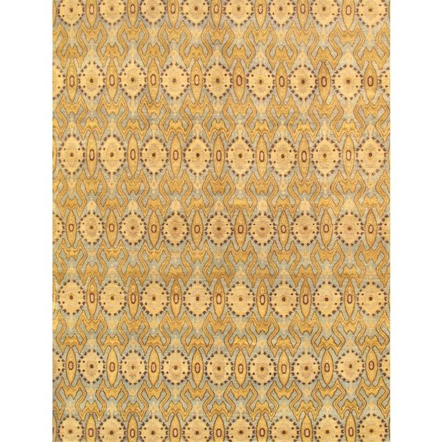 "Pasargad Ikat Lamb's Wool Rug - 8'1"" X 10'5"" For Sale"