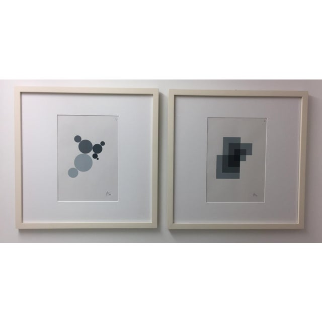 Anton Stankowski Classic Abstract Serigraph For Sale - Image 4 of 5