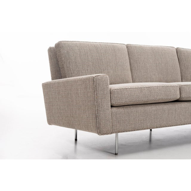 Tan 1950s Vintage Florence Knoll Sofa For Sale - Image 8 of 12