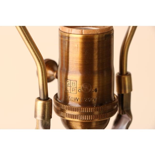 Haeger Drip Glazed Table Lamp - Image 7 of 7