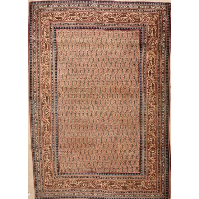 1900s Traditional Antique Tabriz Wool Rug - Image 3 of 3