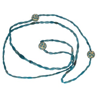 Turkish Turquoise Necklace For Sale