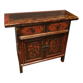 1900s Vintage Asian Antique Cabinet For Sale