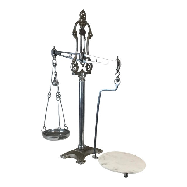 19th C. Hunt & Co. Balance Scale - London For Sale