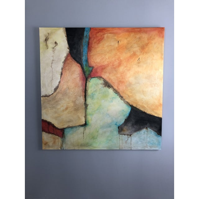 """Between The Lines"" Original Abstract Painting For Sale In Jacksonville, FL - Image 6 of 6"