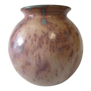 Vintage Carolina Pottery Vase For Sale