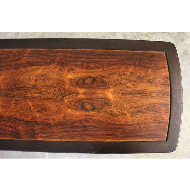 Rosewood Coffee Table by Edward Wormley for Dunbar - Image 7 of 10