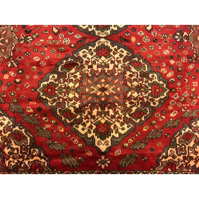 Large Hand Knotted Persian Rug - 6'11x10'0 - Image 4 of 11