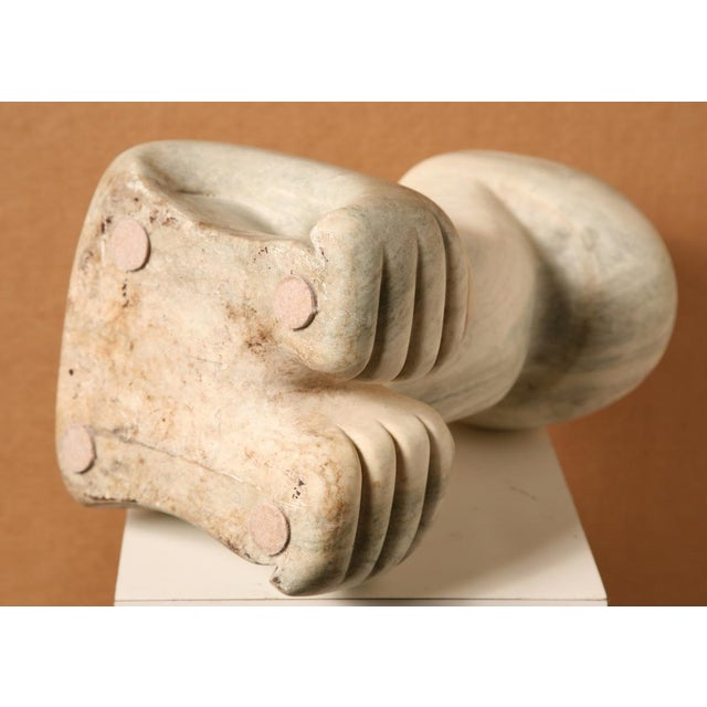 Marble Marble Sculpture by Sheldon Machlin, B.1918-1975 For Sale - Image 7 of 7