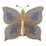 Image of 1970s Butterfly Wall Light Sconce For Sale