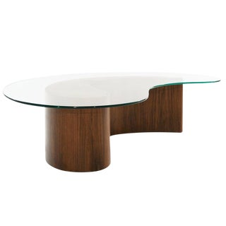 Vladimir Kagan Apostrophe Coffee Table, 1950s For Sale