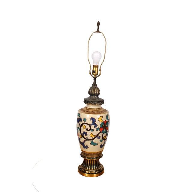 Bohemian Asian Lamp - Image 4 of 4