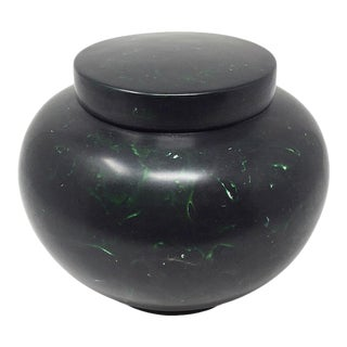1950s Japanese Wakasa Lacquerware Covered Jar For Sale
