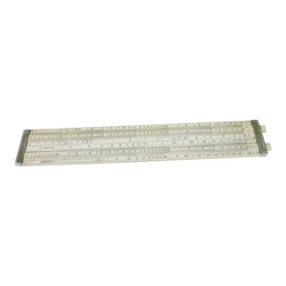 Late 19th Century English Spirits Slide Rule For Sale