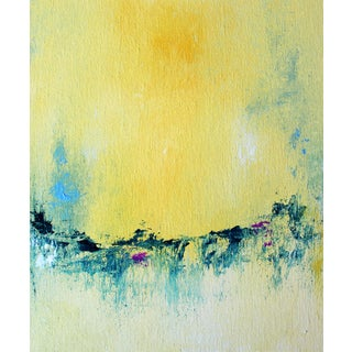 """""""Sun Swash"""" Contemporary Minimalist Abstract Print For Sale"""