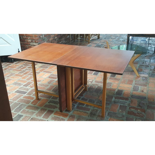 """Bruno Mathsson Gate-Leg """"Maria"""" Table For Sale - Image 7 of 7"""