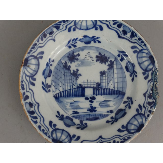 Antique Dutch Delft Chinoiserie Plates- A Pair - Image 6 of 7