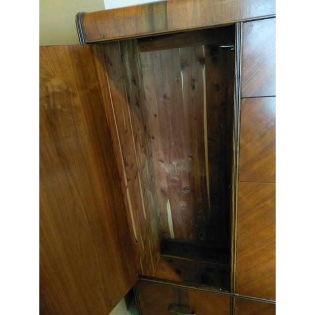 Vintage Wardrobe Chifferobe & Dresser - Image 5 of 9