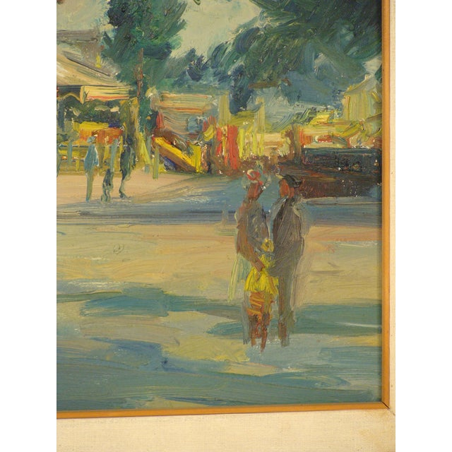 Carnival Carnival Scene Painting by Zoma Baitler For Sale - Image 3 of 13