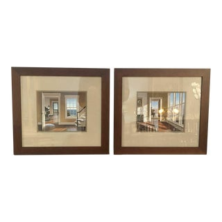 Edward Gordon Interiors Prints - a Pair, Framed For Sale