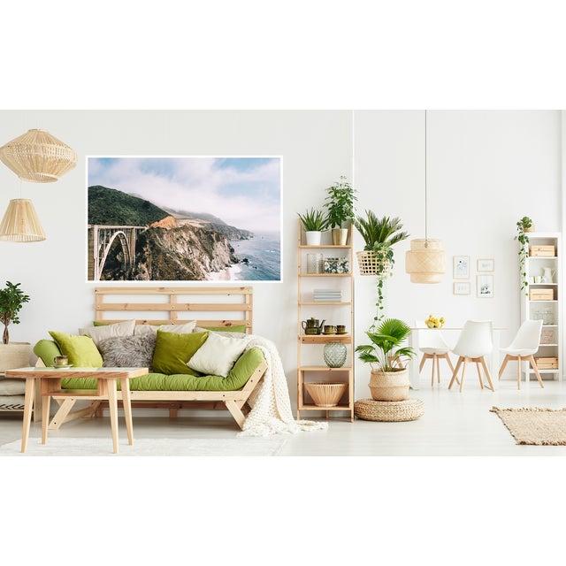 "Boho Chic Original ""Bixby Bridge"" Framed 16x20 Photograph For Sale - Image 3 of 6"