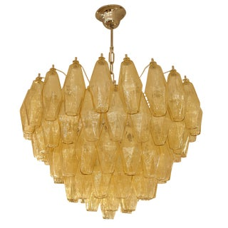 A Venini Poliedri ceiling light