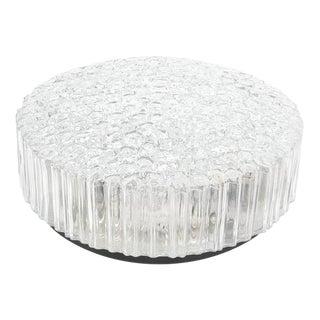 Glashutte Limburg Glass Flush Mounts ceiling light, 1960 For Sale
