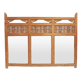 Antique Balinese Mirror Frame For Sale