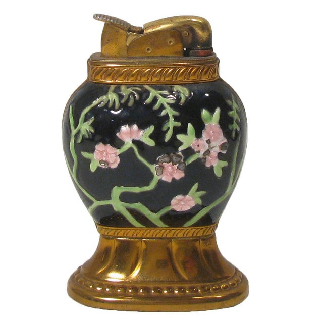 Boho Chic Colorful Chinoiserie Cloisonne Lighter For Sale - Image 3 of 4