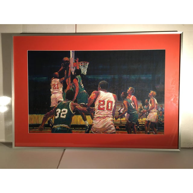 2010s Celtics Basketball Painting For Sale - Image 5 of 5