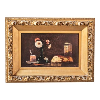 Still Life by Donald Roy Purdy Oil on Masonite For Sale