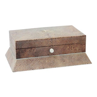 Shagreen Box With Secret Compartment For Sale