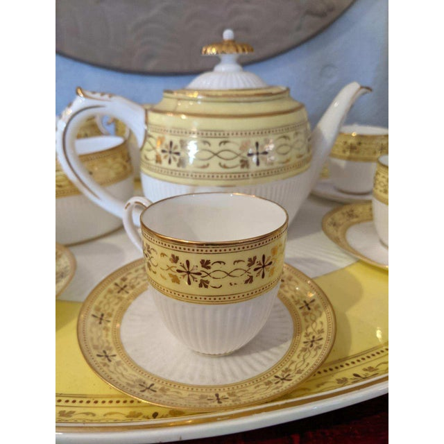 1940s Bailey Banks Includes and Biddle Tea Set For Sale - Image 5 of 11