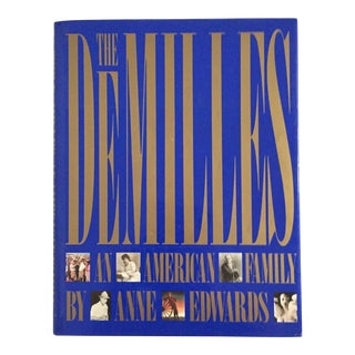 "1988 ""The DeMilles - an American Family"" First Edition Abrams Book For Sale"