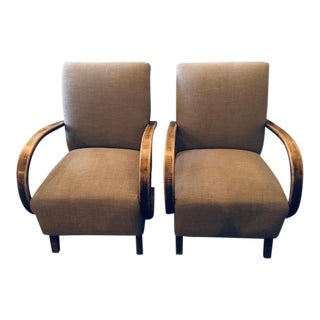 1940's Postmodern Chairs - A Pair For Sale