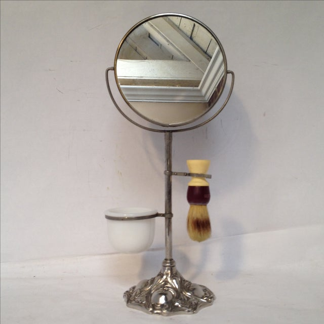 Antique Shaving Stand For Sale - Image 4 of 11