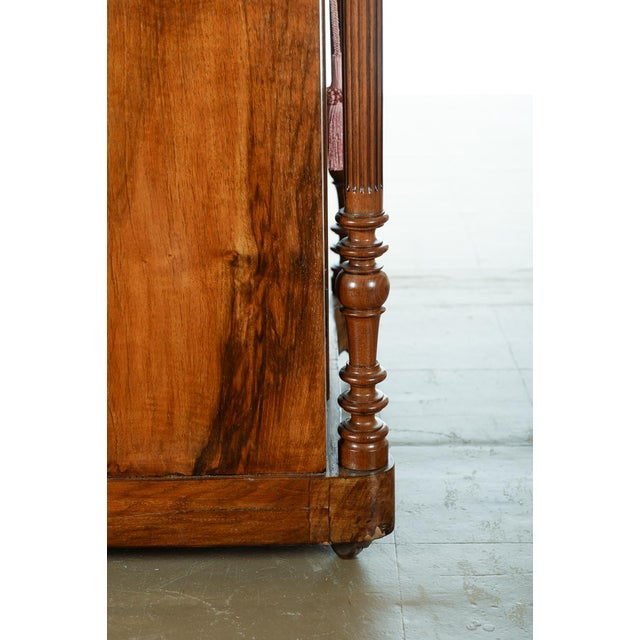 Antique Carved Mahogany Music Cabinet - Image 7 of 10