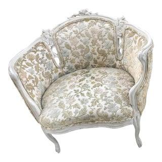 Art Nouveau Club Chair For Sale