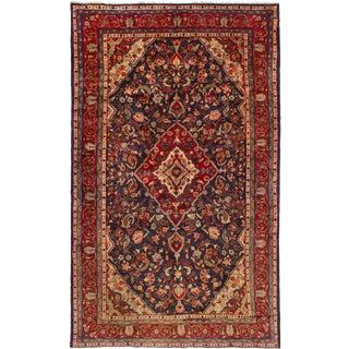 Mid 20th Century Seraj Persian Bayak Wool Rug - 6′6″ × 11′