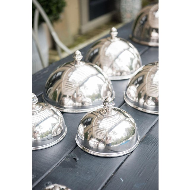 Mid 19th Century Six Silver Dish Covers For Sale - Image 5 of 7