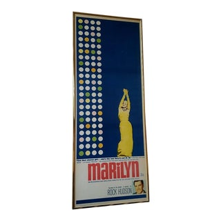 """Original 1963 """"Marilyn"""" Movie Poster For Sale"""