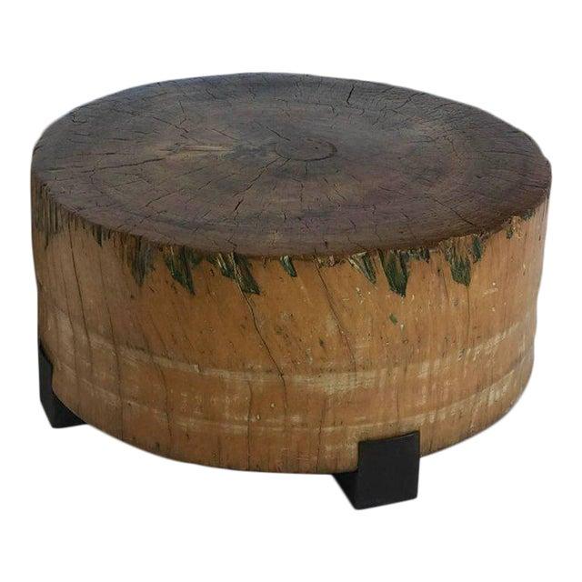 Vintage Butcher Block Table For Sale