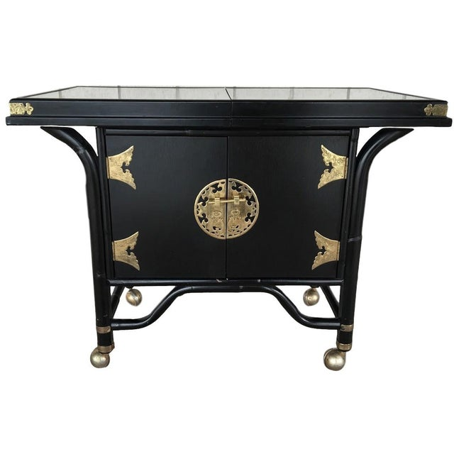 Ritts Mid-Century Bar Cart - Image 1 of 6